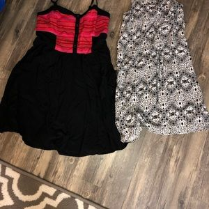 Women's dresses 2 rampage size small above knee